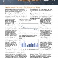 Employment Summary September 2013