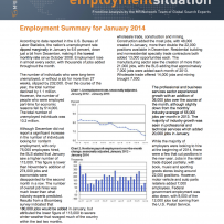 Unemployment Rate Down: January Employment Summary